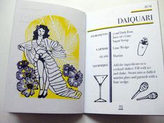 Cocktail Book Limited First Edition 3 colour by TheDuplicators