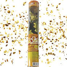 Konfetti-Shooter goldener Mix, 40 cm