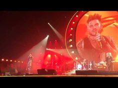 Queen & Adam Lambert Newcastle Arena 2015  Somebody To Love