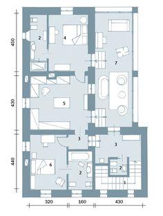 piantina casa 100 mq Case unifamiliari nel 2019 Floor