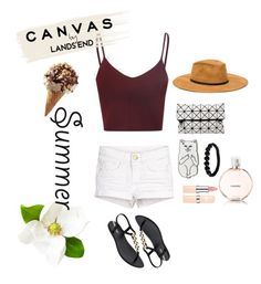 """""""Summer (L. #23)"""" by juliettemeunier ❤ liked on Polyvore featuring IPANEMA, Lands' End, RIPNDIP, Shamballa Jewels and Chanel"""