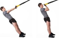 Rosca bíceps TRX