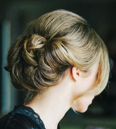 Wedding Hairstyle   : Featured Photographer: Katie Stoops Photography