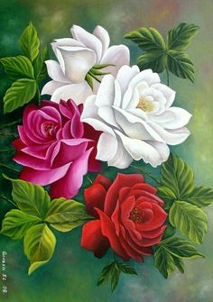 New Full Resin Diamond Painting Cross Stitch Square Diamond Mosaic Craft Embroidery Diy Needlework Basket Roses Arte Floral, Flower Pictures, Flower Wallpaper, Fabric Painting, Beautiful Roses, Flower Art, Drawings, Artwork, Crafts