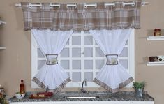 Valance Curtains, 1, Home Decor, Curtains For Kitchen, Plain Curtains, Teapot, Layette, Gifts, Vases