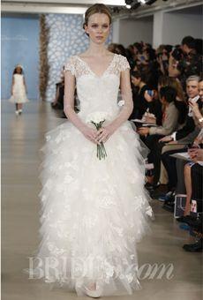 Brides: Oscar de la Renta - Spring 2014 | Bridal Runway Shows | Wedding Dresses and Style | Brides.com