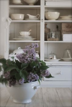 soft tones and lilac