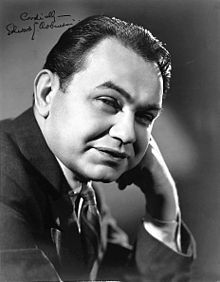 """Edward G. Robinson. Though I usually think of him as a crazy gangster in the movies, he had a wonderful voice and sounded perfectly loving in the """"My Wife Geraldine"""" episode of Suspense! He also did an excellent job playing himself and another character (alternating rapidly, amazing) in """"The Man Who thought he was Edward G. Robinson"""" on the same show."""