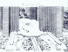 Plan Voisin for Paris, Le Corbusier