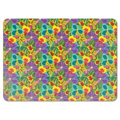 Uneekee Colorful Orchid Placemats