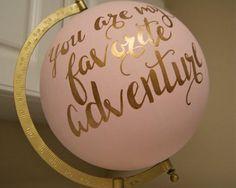 Personaliza tu globo terráqueo