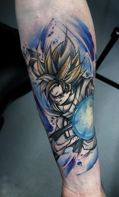 Dragon Ball, Goku Tattoo