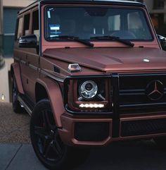 Mercedes-Benz G Wagon     Pinterest: @entmillionaire