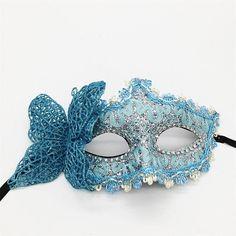 Masca pentru fata din dantela pentru adulti, masca de petrecere sau bal mascat pentru femei