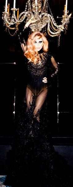 Harper Bazaar. looks like Gaga, nonetheless a great shot and piece