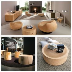 Riva 1920, Made In Italy In Solid Wood: Eco Coffee Table, Project By C.S. U0026  S. Riva.