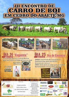 Festas de Carros de Boi: Encontro de Carro de Boi em Cedro do Abaeté - MG