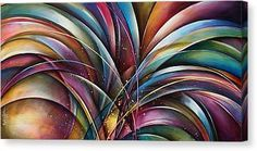 Michael Lang Canvas Print - ' Lilys Song by Michael Lang Abstract Canvas, Canvas Art, Canvas Prints, Got Print, Hanging Wire, Canvas Material, Your Image, Fine Art America, Lily