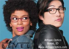 A refreshing take on minimalism.  Bevel Eyewear