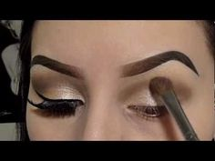 Champagne Shimmer (Neutral Colors) Eyeshadow Tutorial - YouTube