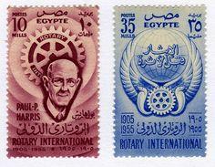 طوابع بريدية مصرية