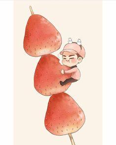 Got7 Fanart, Yugyeom, Chibi, Disney Characters, Fictional Characters, Fan Art, Cartoon, Disney Princess, Stars