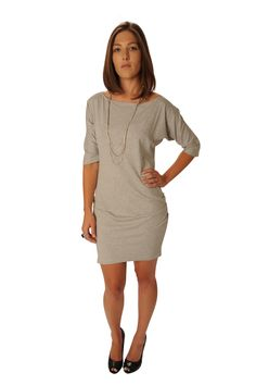 $117.00 - I covet Jersey Boat Neck Tunic
