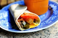 SuperSonic Breakfast Burrito by The Pioneer Woman (will be great for breakfasts this school year)