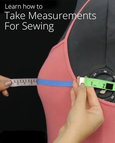 How to Take Your Measurements For Sewing from Professor Pincushion. Lots of info at her website.