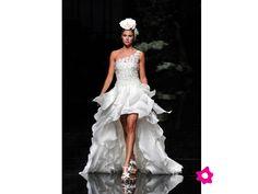 vestido de novia cortos adelante - Buscar con Google