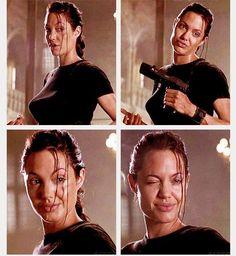 Angelina Jolie #Lara Croft