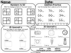 MATS sampler (comprehension, words, math, & writing)