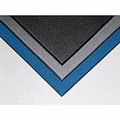 """CROWN Comfort King Anti-Fatigue Mats - Blue by Comfort King. $1012.00. Comfort King Anti-Fatigue Mats feature innovative Zedlan vinyl foam material that provides greater """"bounce"""" and cushioning. Durable, slip-resistant mats are extremely resilient in cold temperatures. Static-dissipative surface resistivity of 109 ohms per square. Use in dry areas and around chemicals."""