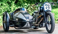 Harley Crossbones Sidecar