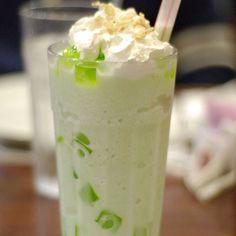 Buko pandan milkshake