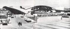 Garita Internacional, puerta de México en Tijana, Tijuana, Baja California, México 1952 Arqs. Guillermo Rosell y Manuel Larrosa International Border, point of entry to Mexico in Tijuana, BC, Mexico 1952