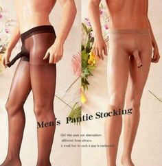 Men's Pantie Stocking