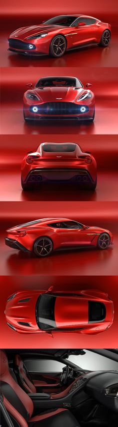 The New Aston Martin Vanquish Zagato Concept Is Painfully Gorgeous | Zagato and Aston Martin team up for a sumptuous concept based on the Vanquish #astonmartinvanquish
