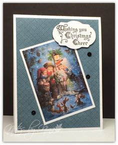 Merry Monday Christmas Card Challenge #143