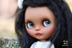 Meet Alika a sweet little girl looking for a home that gives her love.  Base doll: She is a TBL or fake Blythe , I bought her NEW to be