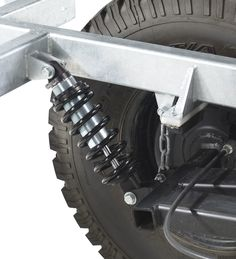 Chaser Adventure Trailer Chassis Suspension Closeup