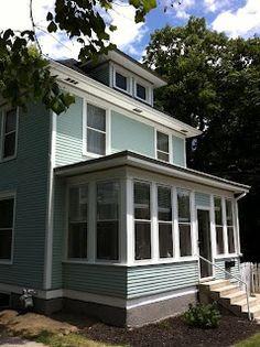 1000 Images About American Foursquare Paint Amp Porches On