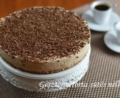 Gesztenyetorta sütés nélkül - Kifőztük, online gasztromagazin No Bake Treats, No Bake Desserts, European Cuisine, Hungarian Recipes, Tiramisu, Food To Make, Deserts, Goodies, Cooking Recipes
