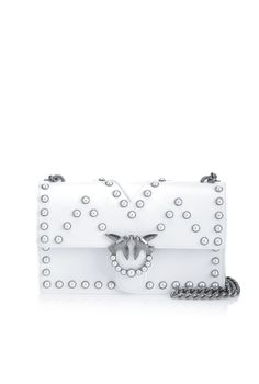 Women's leather Love Bag with pearls PINKO Fall/Winter 2017-2018