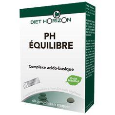 Baisser votre acidité avec pH Equilibre de DIET HORIZON.