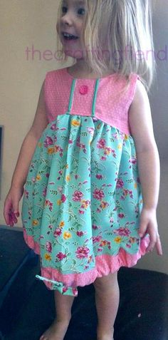 Sunshine Dress by The Crafting Fiend