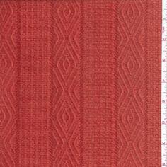 Mango Orange Wool Coating - Fabric By The Yard