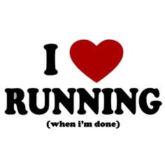 love running - funny picture