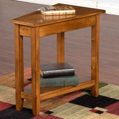 Rustic Birch Sedona Chair Side Table by Sunny Designs