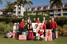 Breakfast with Santa at the Laguna Cliffs Marriott 2018 Event Photographer, Cliff, Newport, Dolores Park, Santa, Breakfast, Awesome, Blog, Morning Coffee